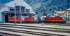 SBB 11350 + 11361 + 11403 + 11175 Erstfeld 15 June 1997