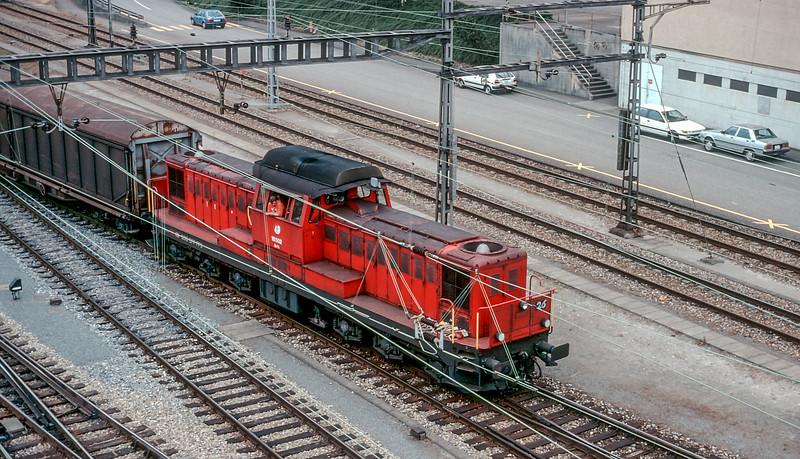 SBB 18502 Muttenz 16 June 1997