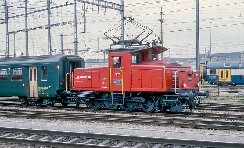 SBB 16438 Zurich Hardbrucke 10 November 1993