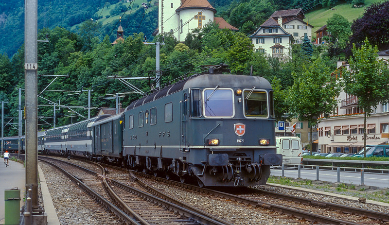 SBB 11627 Fluelen 15 June 1997