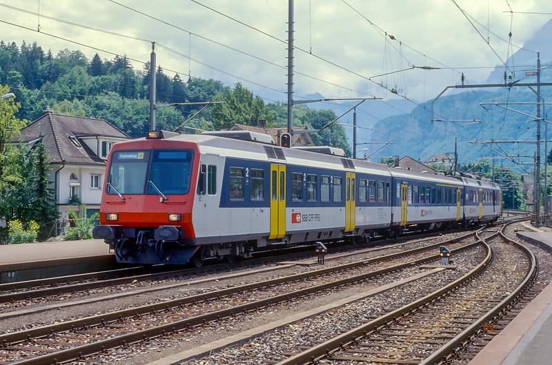 SBB 560-107 Brunnen 15 June 1997