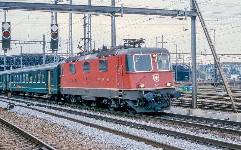 SBB 11275 Zurich Hardbrucke 10 November 1993