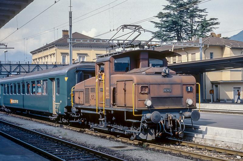 SBB 16343 Bellinzona 13 June 1997