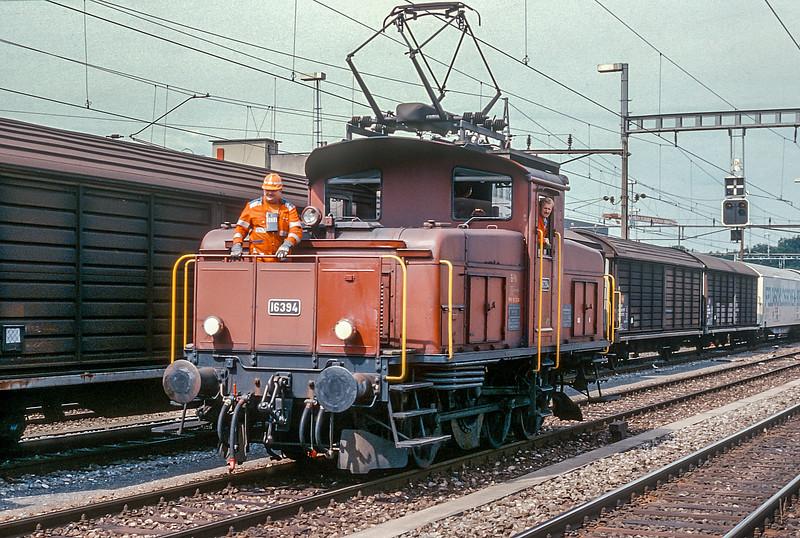 SBB 16394  Burgdorf 15 June 1997