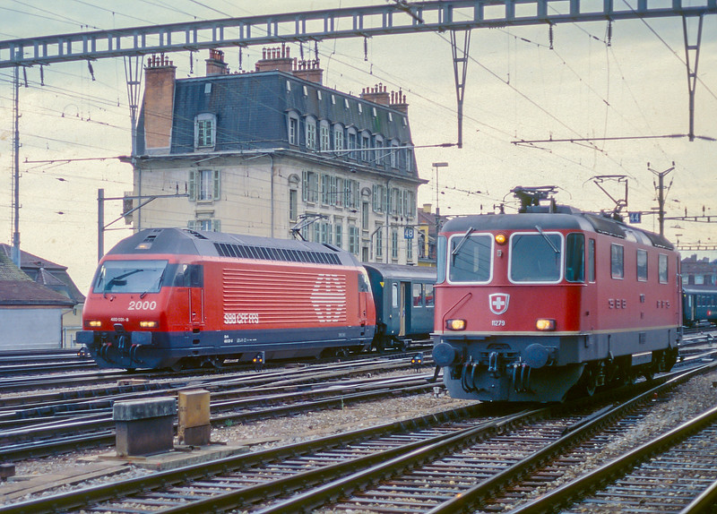 SBB 460-031, 11279 Lausanne 14 June 1997