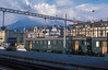 Luzern is a beautiful city - and sometimes gets beautiful light as well! At 9 o'clock in the morning of 7 July 1988 SBB RBe4/4 1469 waits for departure