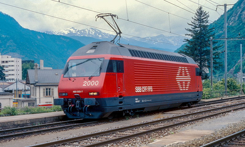 SBB 460-003 Brig 13 June 1997