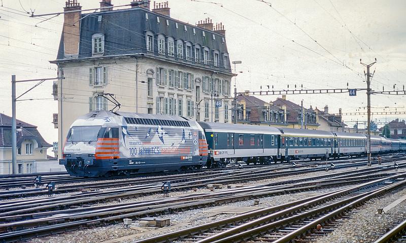 SBB 460-022 Lausanne 14 June 1997