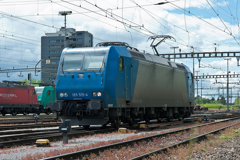 ATL (on hire to Railtraxx) 185 515 Muttenz 30 May 2013