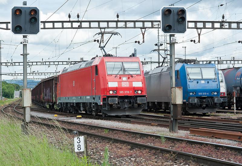 DB185 378 Muttenz 30 May 2013