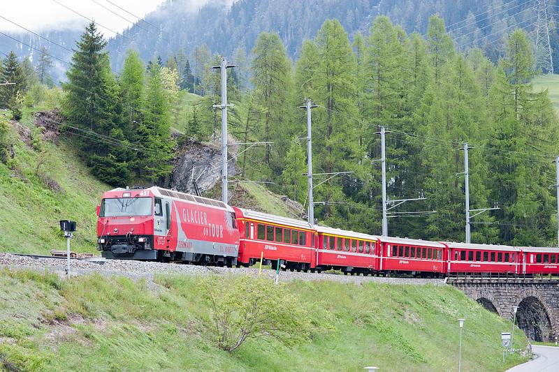 RhB 651 Bergun 3 June 2013