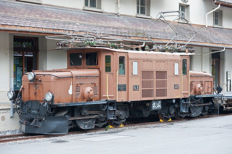 RhB 407 Bergun 3 June 2013
