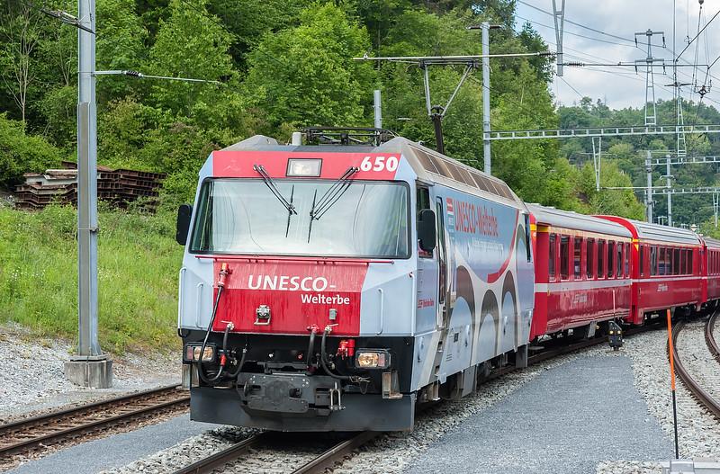 RhB 650 Reichenau-Tamins 3 June 2013