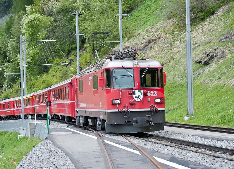 RhB 623 Bergun 3 June 2013