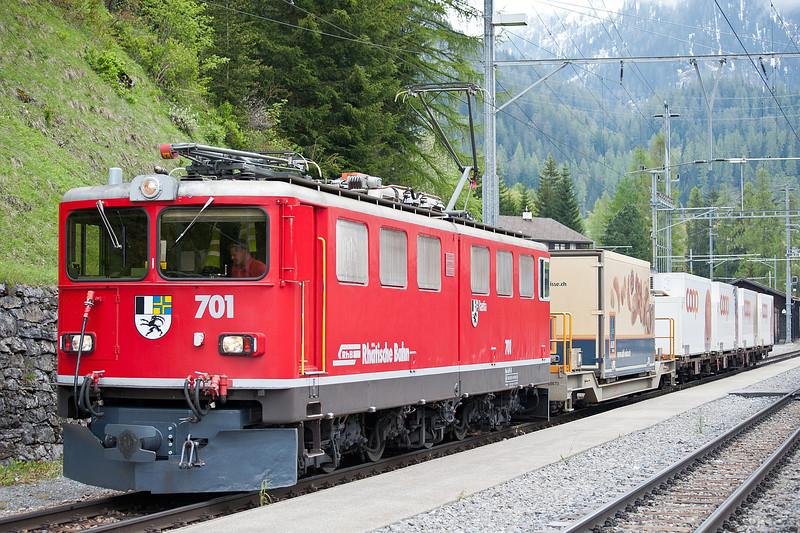 RhB 701 Bergun 3 June 2013