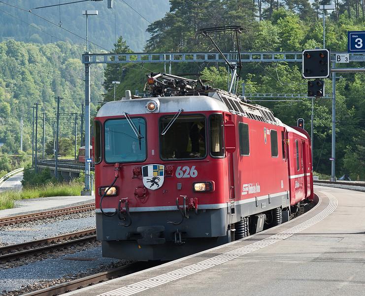 RhB 626 Reichenau-Tamins 3 June 2013