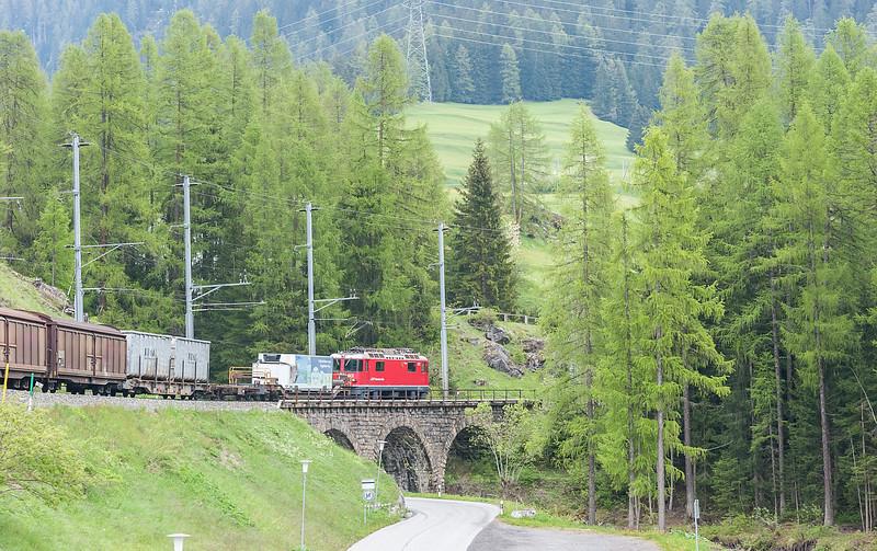 RhB 612 Bergun 3 June 2013