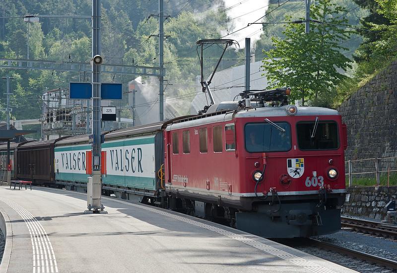 RhB 603 Reichenau-Tamins 3 June 2013