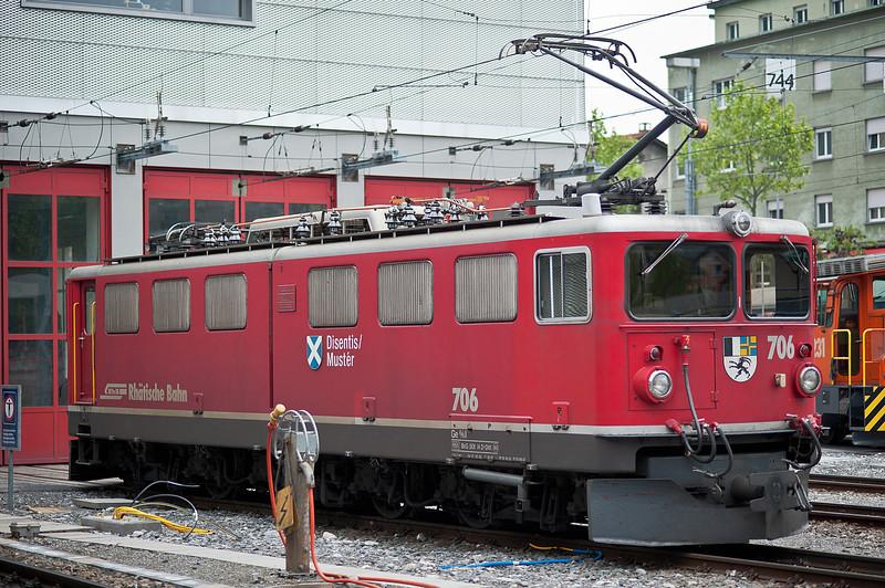 RhB 706 Chur 2 June 2013