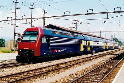 450 059 at Pfaffikon SZ on 16th June 2003