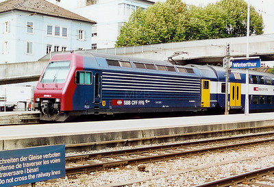 450 089 at Winterthur on 22nd September 2000