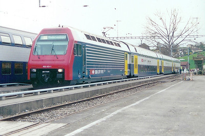 450 101 at Niederweningen on 21st March 2002
