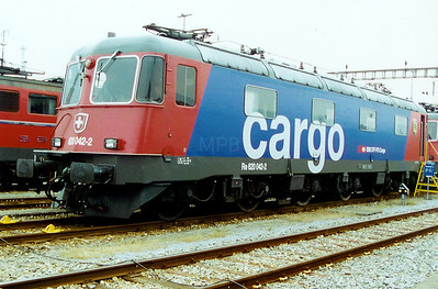620 042 at Basel Muttenz Yard on 7th September 2002