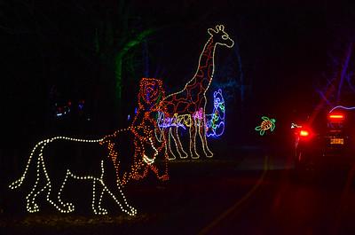 Swope Park Winter Magic, Christmas Lights, Holiday Lights