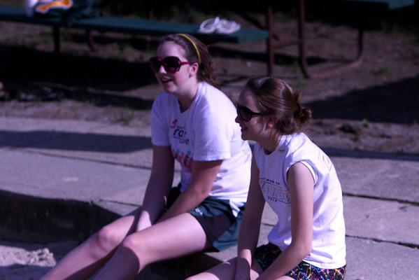 Sand Volleyball field trip 4/28/2011