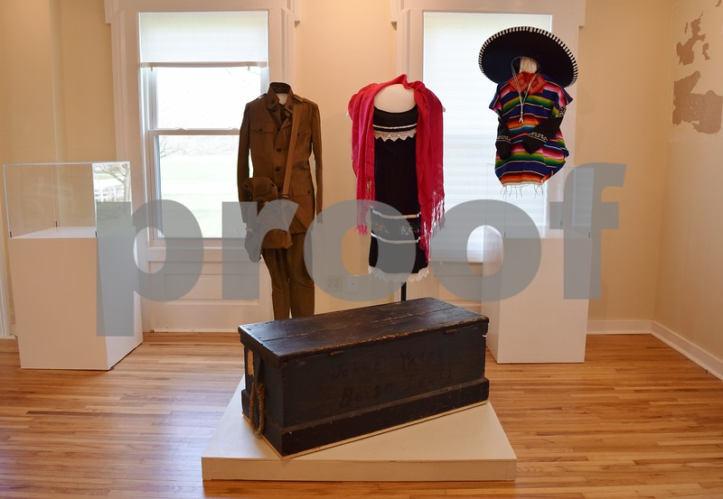 "The Sycamore History Museum's new exhibit, ""Adventures to and from Sycamore,"" tells the stories of people from Sycamore, the interesting places they have traveled and how they either came to live in or came to leave Sycamore. The exhibit will have four themes: education, immigration, exploration and military."