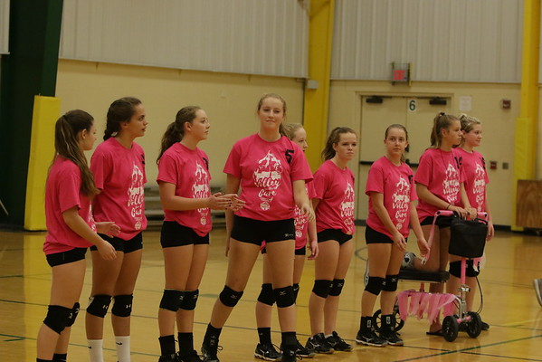 Freshman girls VB vs Mason 9-21-16