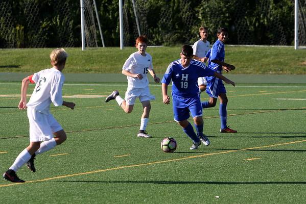 JV boys soccer vs Hamilton 9-13-16
