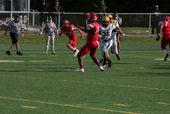 JV football vs Fairfield 10-1-16