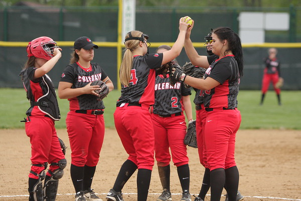 varsity softball vs Colerain 4-28-16