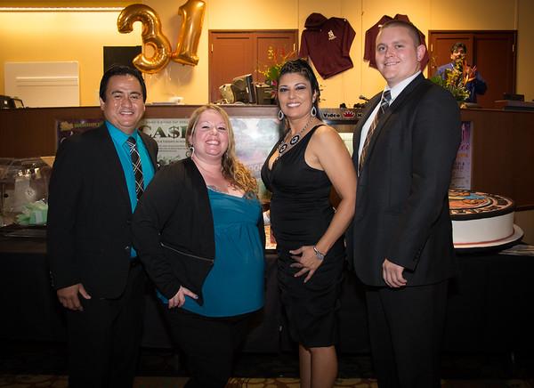 Bingo Management Team L-R: Rocky, Libby, Tina and Erik