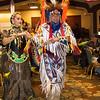 Gilbert Sanchez-Allrunner and the Red Eagle Dancers