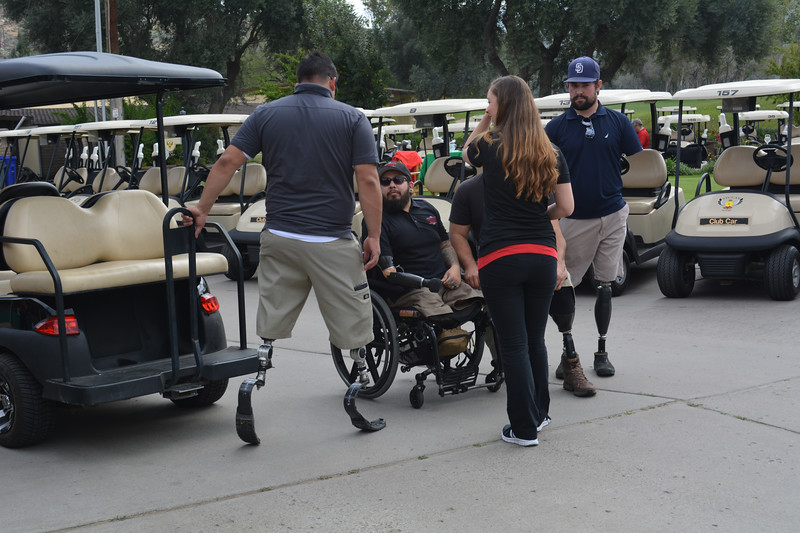 Wounded Marine Golf-5943