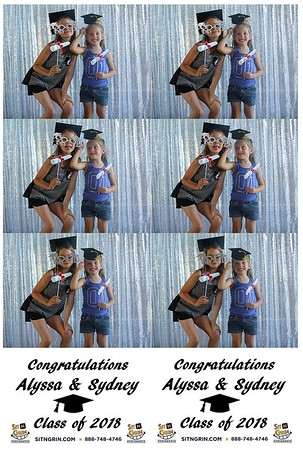 Sydney & Alyssa Graduation Party