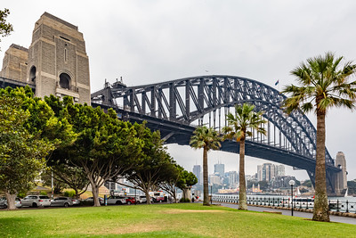 Sydney Harbor bridge, Sydney New South Wales, Australia.