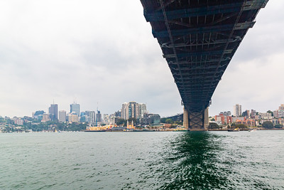 Sydney Harbor bridge  Sydney New South Wales Australia and Kirribilli.