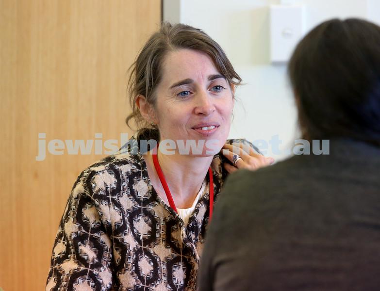 SJWF at Waverley Library. Miriam Hechtman. Pic Noel Kessel
