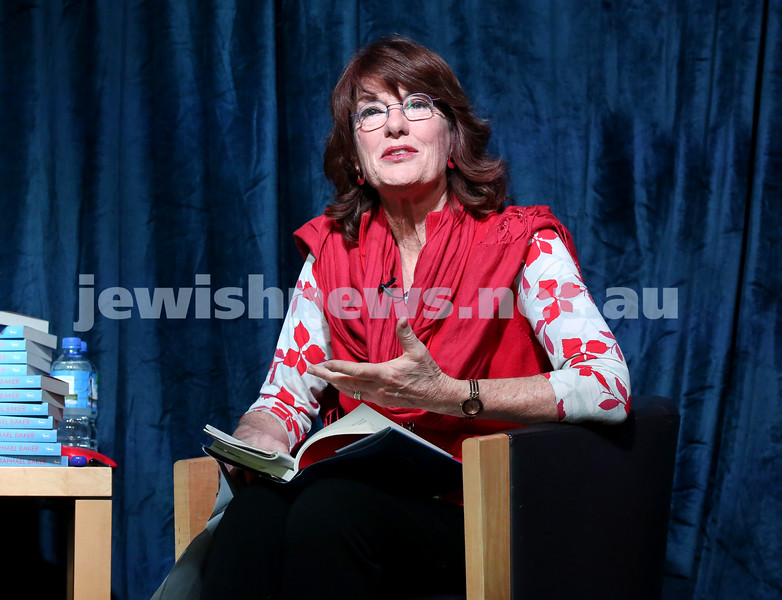 SJWF at Waverley Library. Geraldine Doogue. Pic Noel Kessel