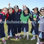 Kesser Torah College Infants Primary Sports Carnival. Liorah Kessel, Chava Althaus, Brocha Amzalak, Leah Tuvel, Tehilla Blackman, Shaina Irusalimsky