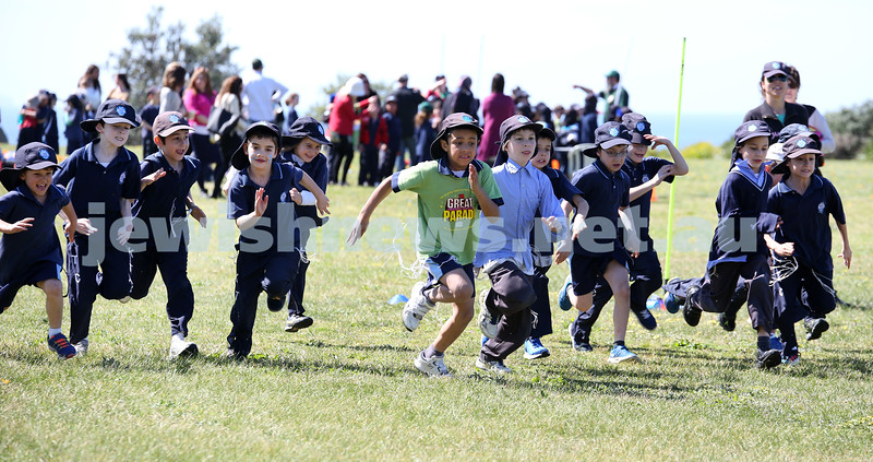 Kesser Torah College Infants Primary Sports Carnival. Yr 2 Boys 400m race.