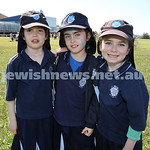 Kesser Torah College Infants Primary Sports Carnival. Esther Davis, Kayla Vogel, Dina Lowinger.