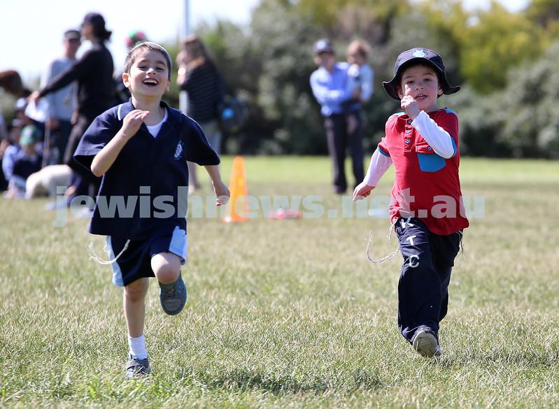Kesser Torah College Infants Primary Sports Carnival. Avi Niasoff, Shimon Sacher.