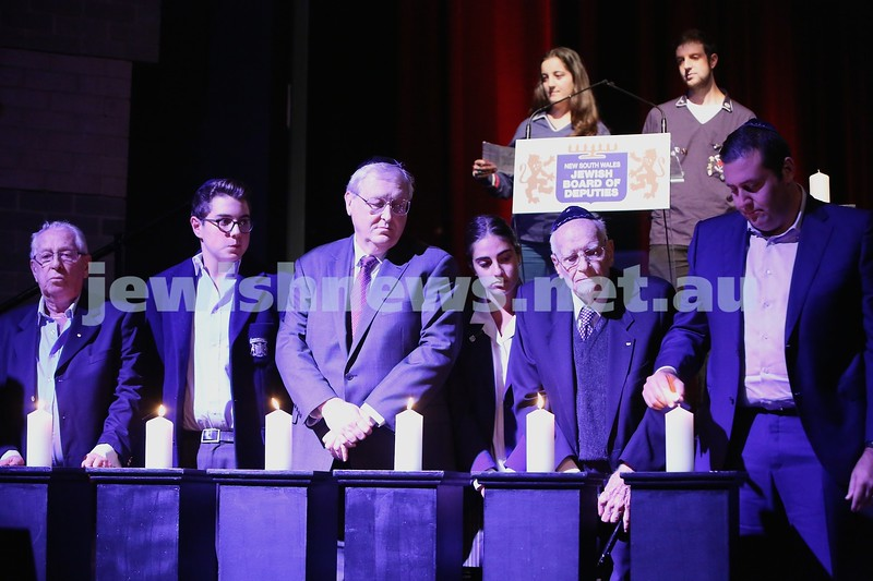 NSW Jewish Board of Deputies Yom Hashoah Moriah 280414