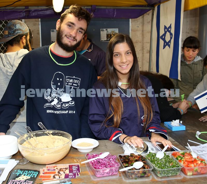 Communal Yom Haatzmaut Celebration at Moriah College. Ari Freidgut & Hadas Parchi from Hineni.