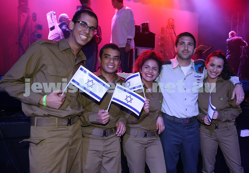 Communal Yom Haatzmaut Celebration at Moriah College. IDF Band.