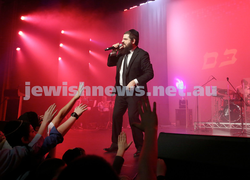 Benny Friedman concert in Sydney.